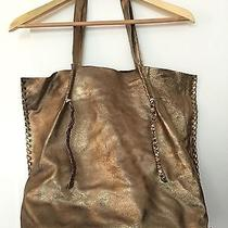 Anthropologie Metallic Tote Bag Photo