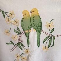 Anthropologie Moth Love Bird Parakeet Cardigan Sweater S Photo