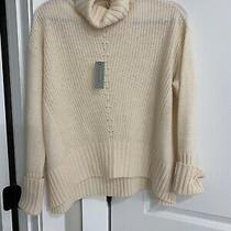 Anthropologie (Moth) Pullover Turtleneck High Low Sweater Size Ps Nwt Photo