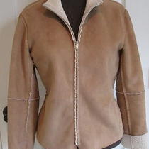 Anthropologie Moth Sweater & Velvet Graham Spencer Micro Suede Jacket Small Photo