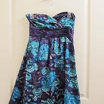 Anthropologie Moulinette Soeurs Alloy Dress Size 0 - Floral Faux-Wrap Photo