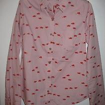 Anthropologie Mouse and Cheese Button-Up Shirt - 6 Photo