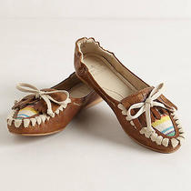 Anthropologie New Womens Annabel Moccasins Size 10 Photo