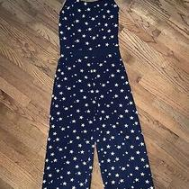 Anthropologie Newport Jumpsuit Star Print Size Small Nwt  Photo