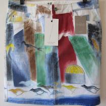 Anthropologie Nwt Hand Painted Pa Academy of Fine Art Catherine Blinn Art Sz 28 Photo