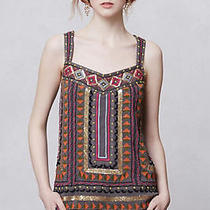Anthropologie Nwt Lawan Sequin & Embroidery Tank by Meadow Rue Size Xs Photo