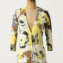 Anthropologie Oil Paints Cardigan Sweater Top Tabitha 0 Xs Photo