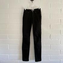 Anthropologie Paige Denim Verdugo Ultra Skinny Black Jeans 23 Photo