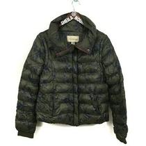 Anthropologie Pilcro and the Letterpress Convertible Puffer Jacket Women's Sz. S Photo