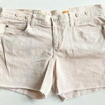 Anthropologie Pilcro and the Letterpress Womens Sz 31 Blush Pink Hand Cut Shorts Photo