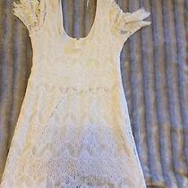 Anthropologie Pins & Needles Dress - Off-White Large Photo