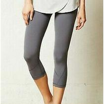 Anthropologie Pure  Good Compression Skirted Crop Leggings Small Made in Usa Photo