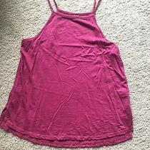 Anthropologie Pure  Good Pink Womens Tank Top Small Photo