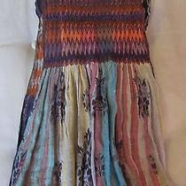 Anthropologie Purple Pattern Scarf Photo