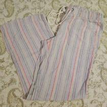 Anthropologie Rainbow Stripes Sleep Pajama Pants Xs Photo