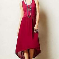 Anthropologie Rasberry Tulipan Tank Dress Size M Photo