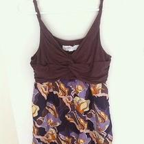 Anthropologie Retro Floral Combo Dress Size Small Photo