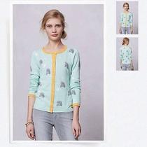 Anthropologie Road Game Cardigan Size M Rare & Htf Photo