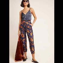 Anthropologie Salma Jacquard Joggers Size Xl Nwt Photo