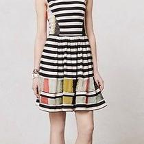 Anthropologie San and Soni Modern Composition Dress Sz S Sold Out Photo