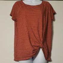 Anthropologie Sanctuary Sunny Day Twist Tee Rust Size Small Photo
