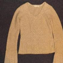 Anthropologie Sleeping on Snow Cable Knit Sweater Xs Photo