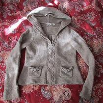 Anthropologie Sleeping on Snow Hooded  Sweater Sz M Photo
