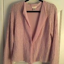 Anthropologie Sleeping on Snow Lavender Size Large Sweater Photo