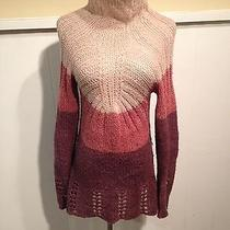 Anthropologie Sleeping on Snow Ombre Sweater Small Photo