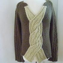 Anthropologie Sleeping on Snow  Sage Green Sweater  L Photo