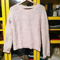 Anthropologie (Sparrow Brand) Cable Knit Sweater Euc Sz M Photo