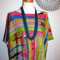Anthropologie Sparrow Painted Palette Top Artsy Nwot S/m Photo