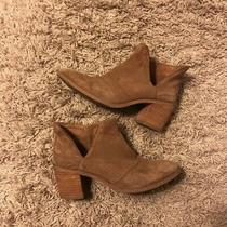 Anthropologie Suede Bootie Brand Rebels Size 8 Photo