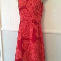 Anthropologie Tabitha Red Dress Size 4 Photo