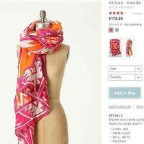 Anthropologie Theodora Callum Other Sands Viscose Linen Tie-All Scarf Nwt Photo