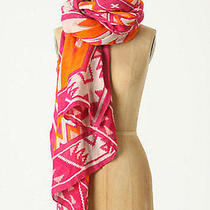 Anthropologie Theodora Callum Other Sands Viscose Linen Tie-All Scarf Photo
