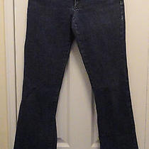 Anthropologie Theory 6  Classic Boot Jeans Modern Basic  Copper Stitch Photo