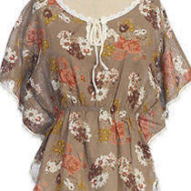 Anthropologie Top Floral Top by Hazel Photo