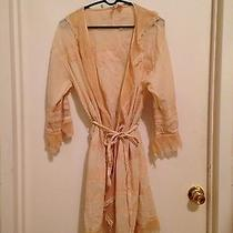 Anthropologie Vintage Inspired Dressing Robe  Photo