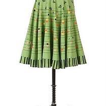 Anthropologie Viola Rare Strike-a-Chord Piano Keys Skirt 0 Xs 2 Photo