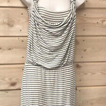 Anthropologie Weston Wear Blue Striped Knit Dress Sz Xs Photo