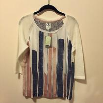 Anthropologie Womens Water Color Pullover (Xs) Photo