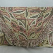 Antik Batik Colored Woven Clutch  Photo