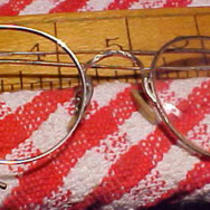 Antique 14 Kt G.f. Wire Rim Eye Glasses Fancy Steam Punk Collectable Plus Photo