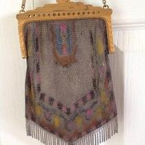 Antique Art Deco Whiting and Davis Mesh Purse Photo
