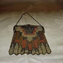 Antique Art Deco Whiting & Davis Beaded Purse Photo