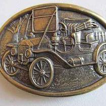 Antique Car Belt Buckle Photo