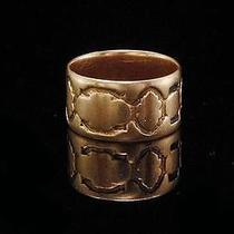 Antique Early Victorian 14k Rose Gold Cigar Wedding Band Ring  (06151415) Photo