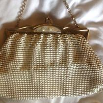 Antique Flapper Metal Mesh Bag by Whiting Davis White Xc Photo