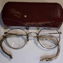 Antique Gold Fill Spectacles/bifocals /huevue /parker & French /regina/ Photo